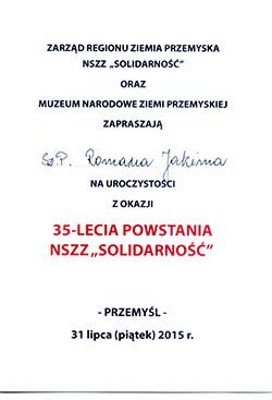 Zaproszenie Przem
