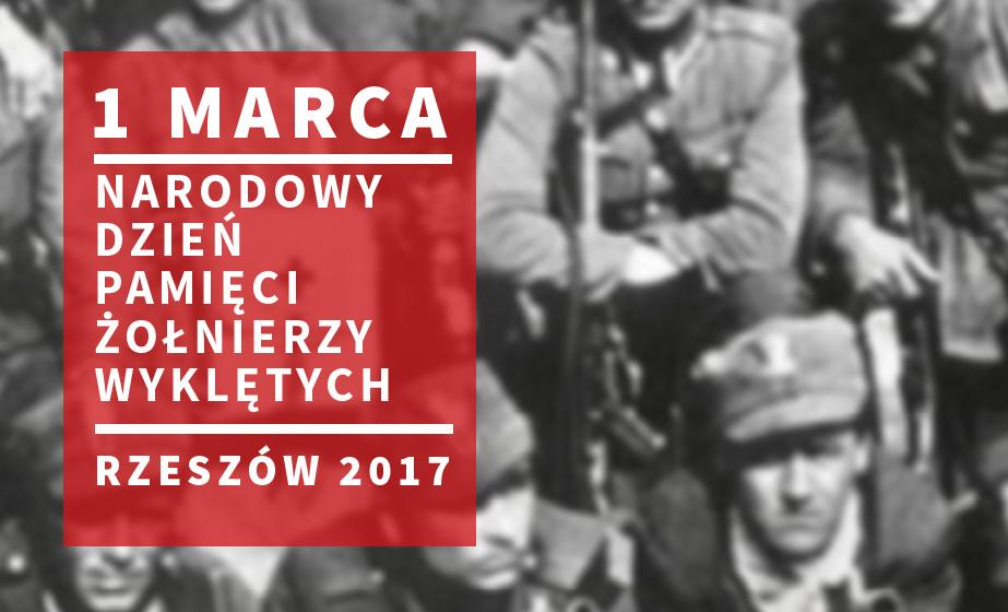 """1 marca 2017 r. Obchody Narodowego Dnia Pamięci """"Żołnierzy Wyklętych"""""""