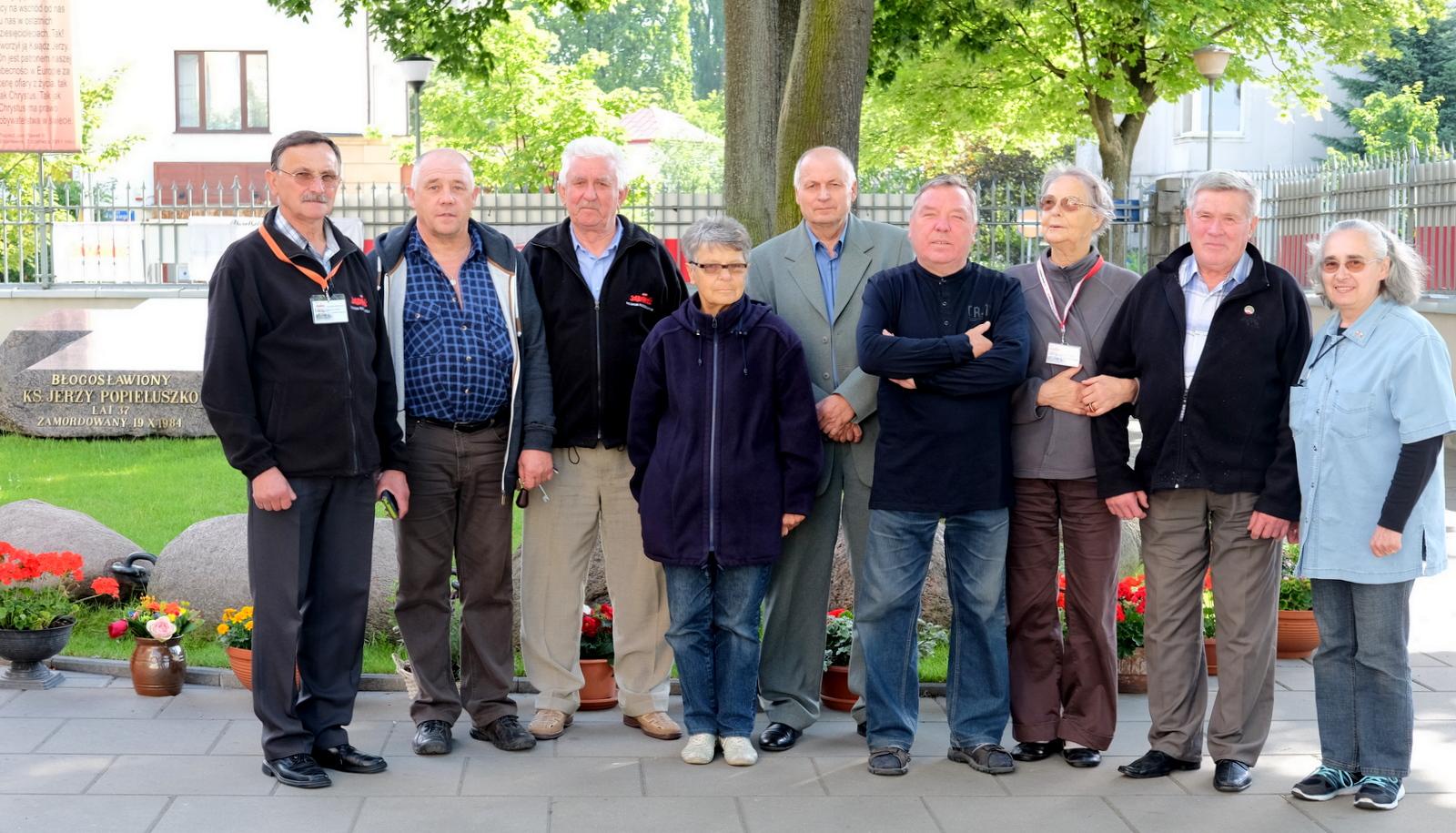 Stowarzyszenie pełniło straż przy grobie bł. J. Popiełuszki 22-23.06.2017 r.