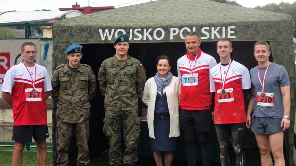 z przedstawicielami wojska