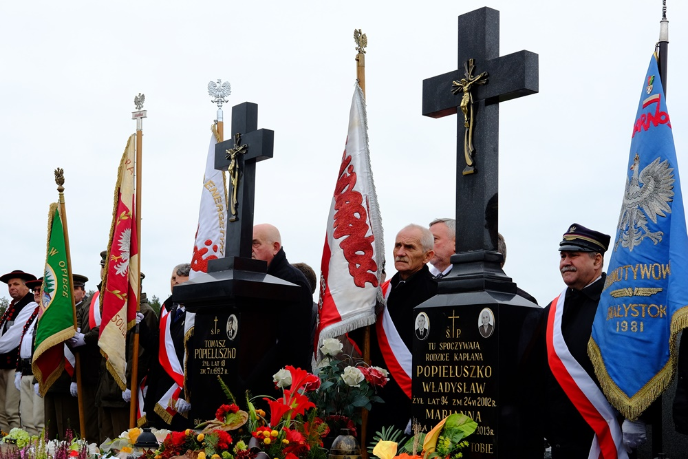 Uroczystości ku czci bł. ks. Jerzego Popiełuszki i Jego rodziny w Suchowoli, 22.10.2017 r.