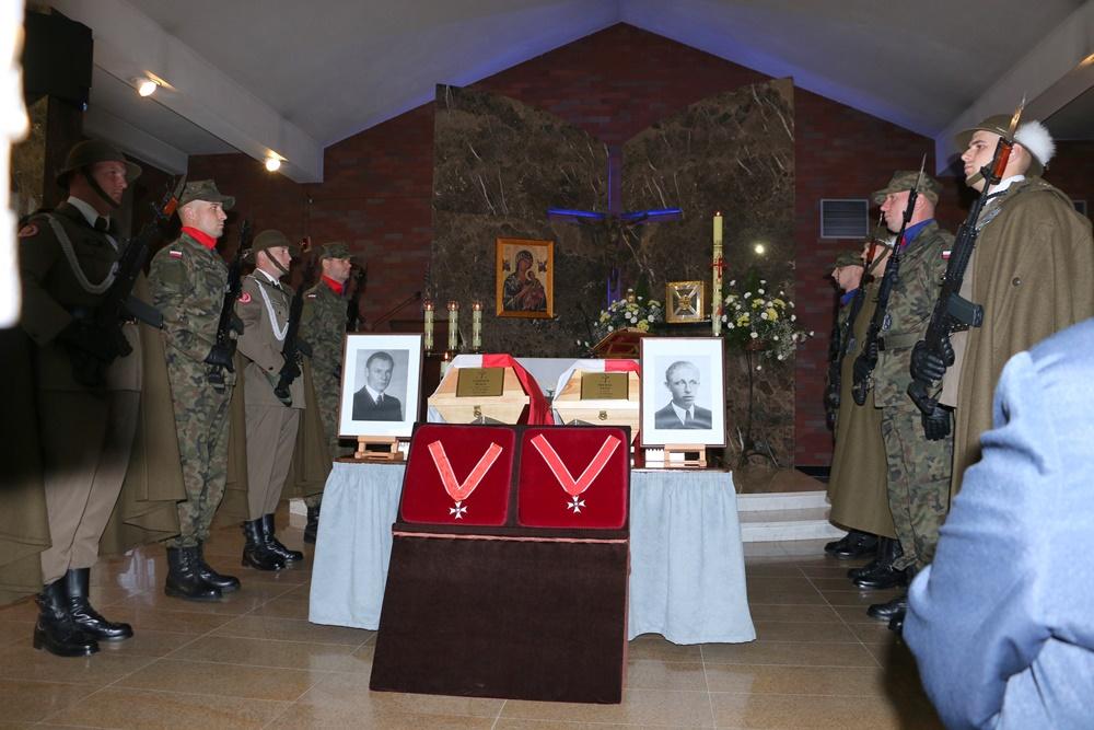 Pogrzeb Żołnierzy Niezłomnych Leopolda Rząsy i Michała Zygo. Rzeszów, 20.10.2017 r.