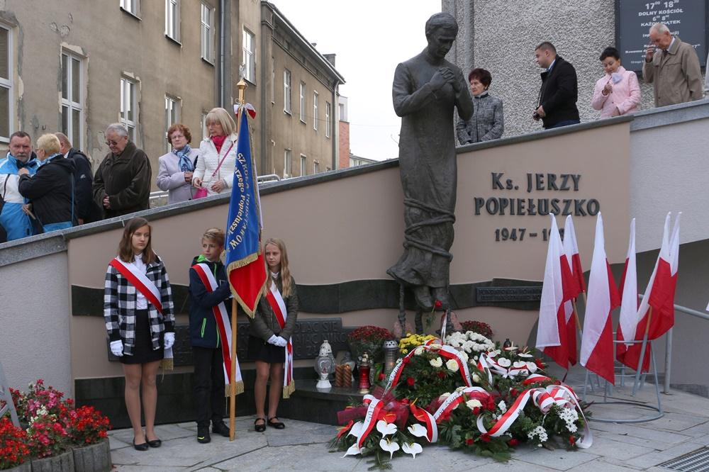 Msza św. dziękczynna za łaski otrzymane za wstawiennictwem bł. ks. Jerzego Popiełuszki oraz w intencji Ojczyzny. 22.10.2017 r.
