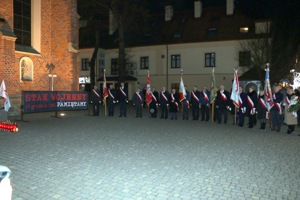 W 36. rocznicę wprowadzenia stanu wojennego. – Obchody w Rzeszowie, 13.12.2017 r.