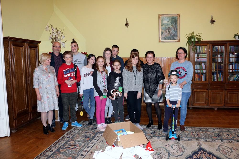 Mikołajki w Domu Dziecka w Strzyżowie, 14.12.2017 r.