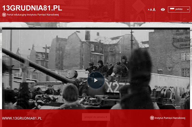 Stan wojenny – portal edukacyjny IPN