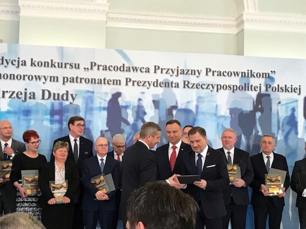 """Rozstrzygnięcie Konkursu """"Pracodawca Przyjazny Pracownikom"""" – Warszawa, 26.02.2018 r."""