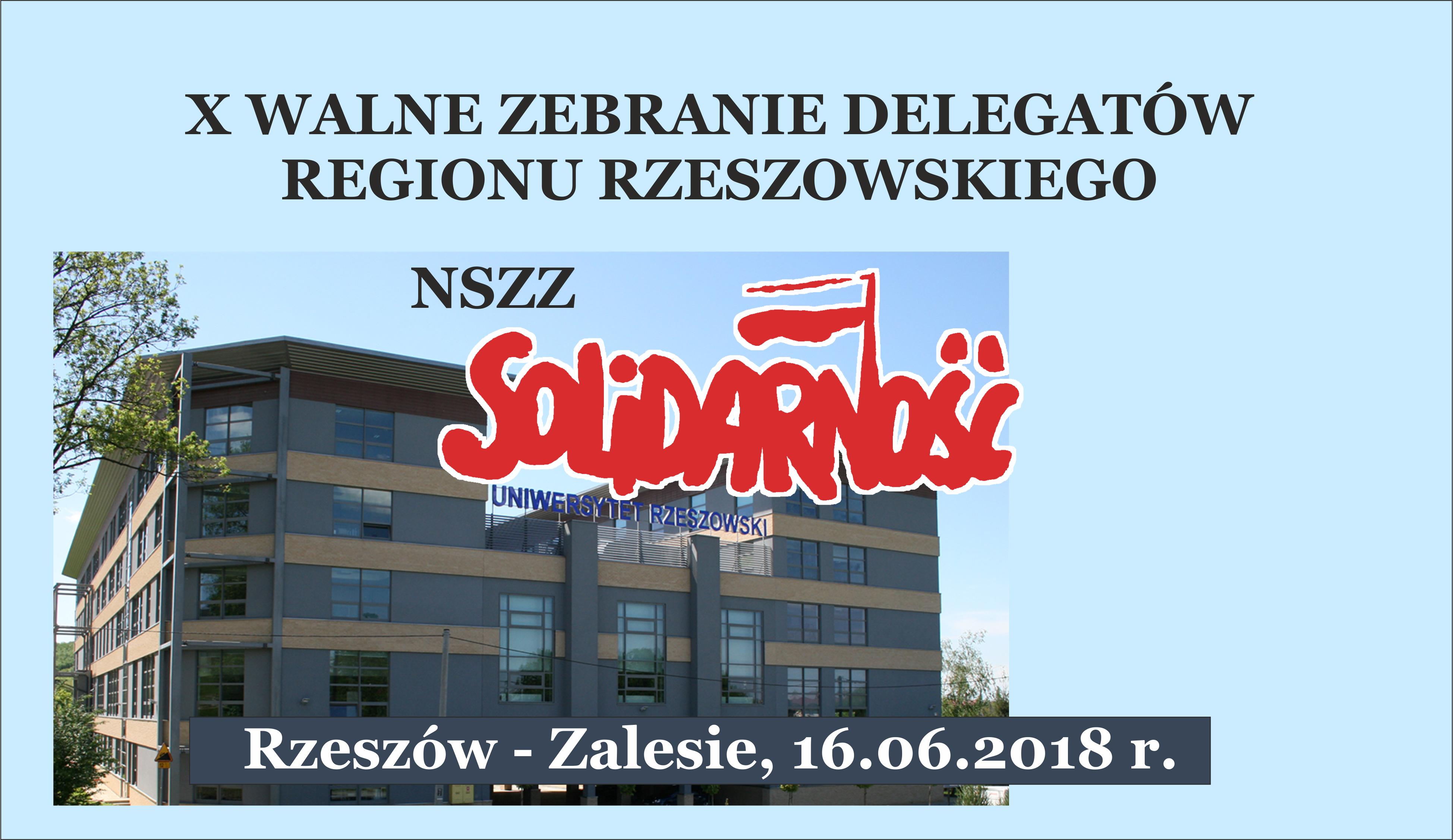 """W sobotę wybory władz regionalnych NSZZ """"Solidarność"""""""