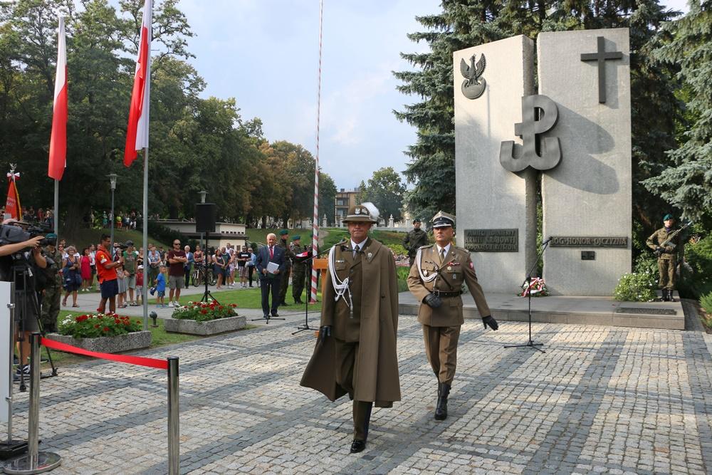 74. rocznica wybuchu Powstania Warszawskiego. Obchody w Rzeszowie 1.08.2018