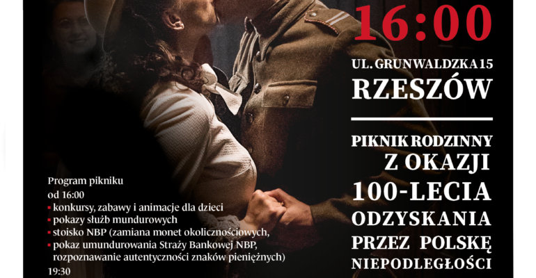 """Widowisko muzyczne """"Wolność we krwi 1918-2018"""""""
