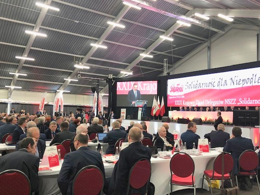 """KZD NSZZ """"Solidarność"""" – Częstochowa 25-26.10.2018 r."""