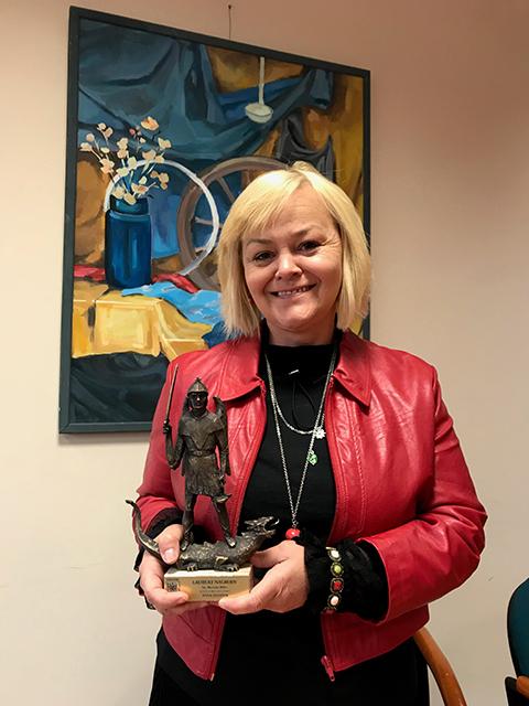 Anna Dziadek nagrodzona!
