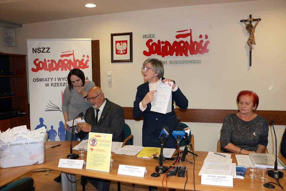 Konferencja prasowa RSOiW Regionu Rzeszowskiego – 10.12.2018 r.