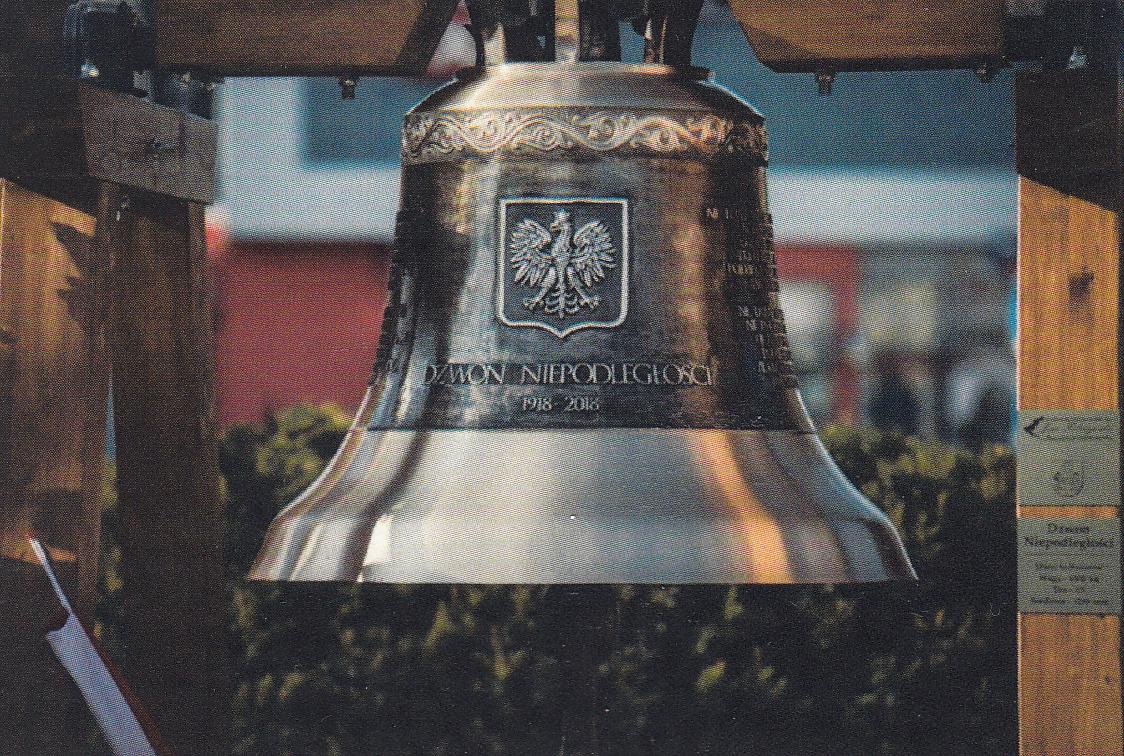 """Otrzymaliśmy miniaturę """"Dzwonu Niepodległości"""""""