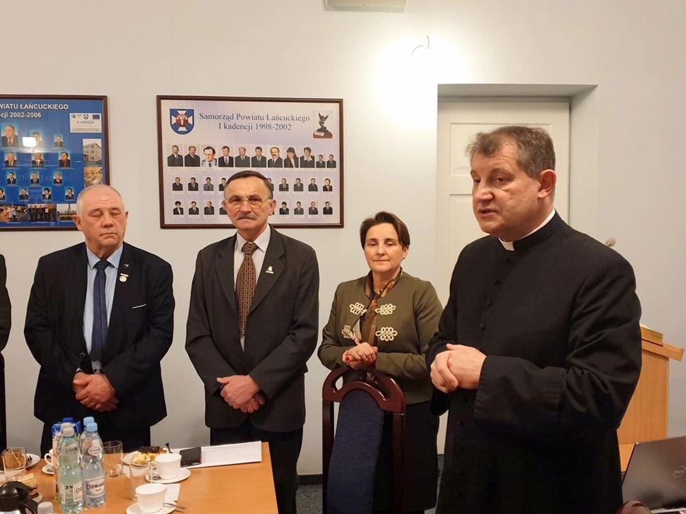 Opłatek w Oddziale ZR w Łańcucie, 23.01.2019 r.