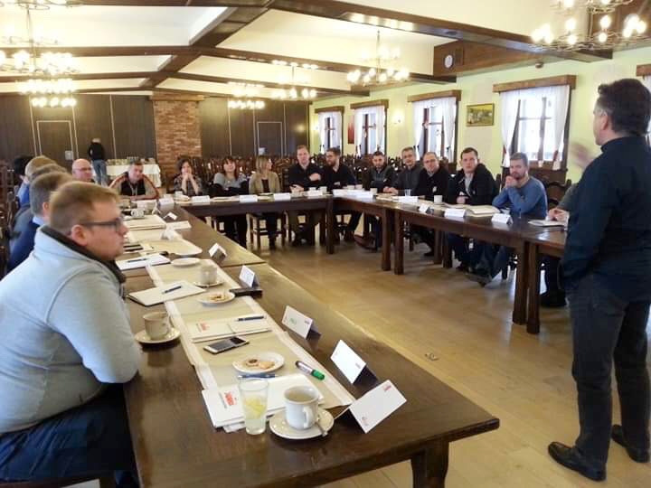 Szkolenie z rozwoju związku w Pstrągowej, 24.01.2019 r.