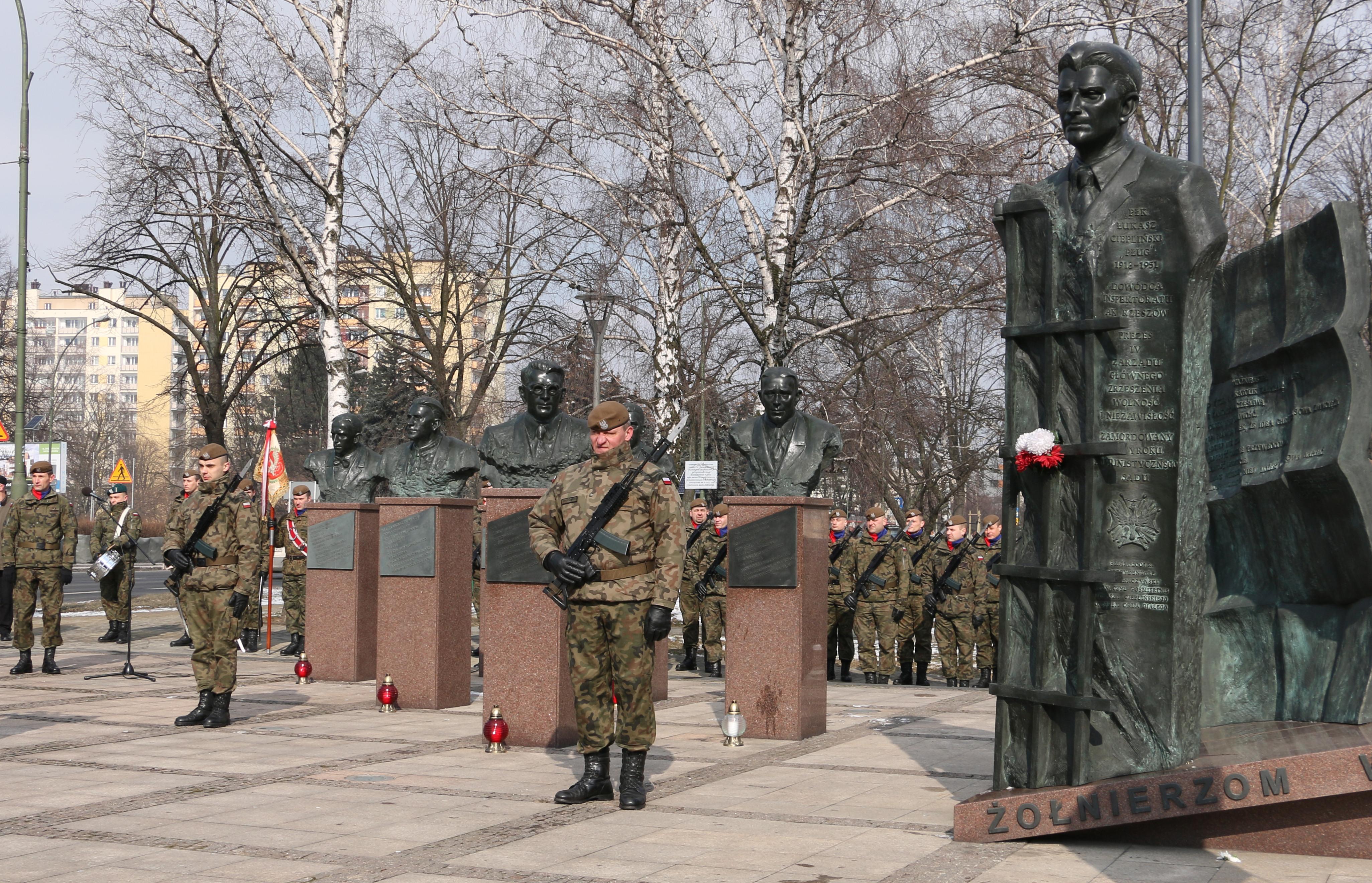 1 marca, obchodzimy Narodowy Dzień Pamięci Żołnierzy Wyklętych