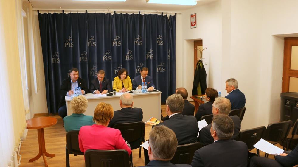Spotkanie z parlamentarzystami ws. dialogu i sytuacji społeczno-gospodarczej. 4.02.2019 r.
