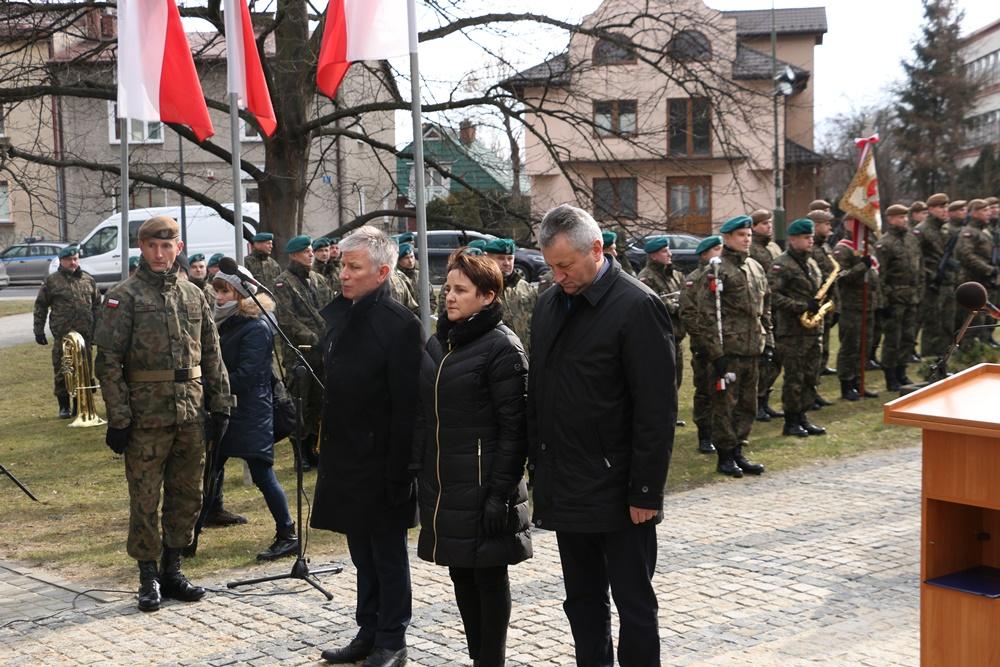 Obchody 77. rocznicy powstania Armii Krajowej w Rzeszowie. 14.02.2019 r.