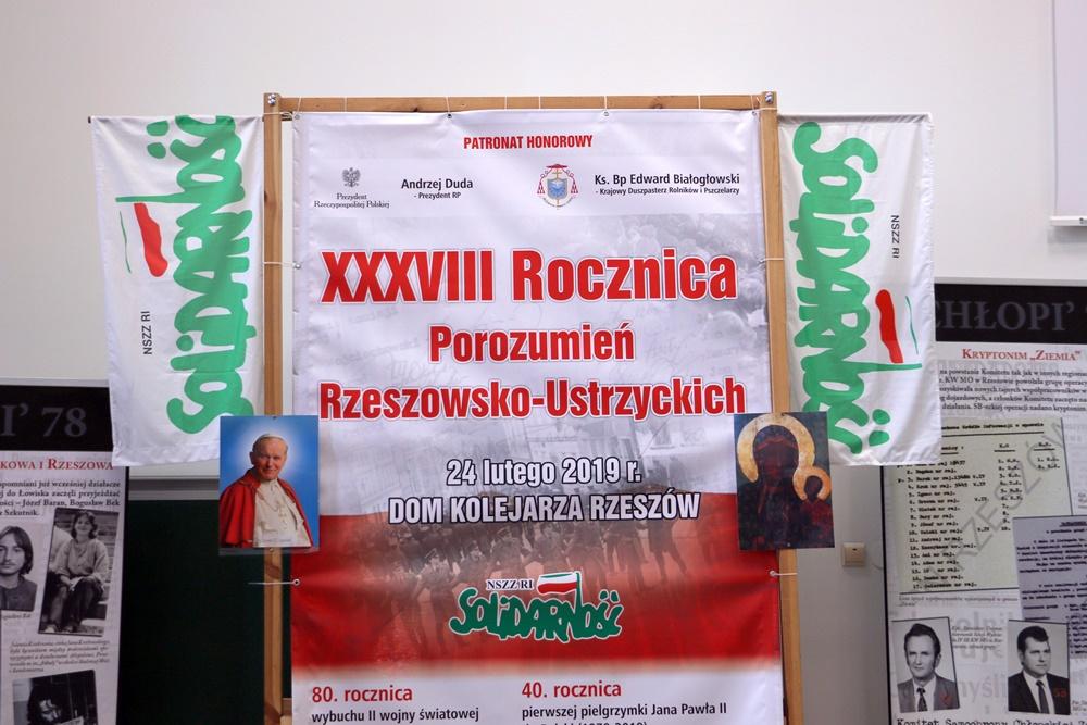 38. rocznica Porozumień Rzeszowsko – Ustrzyckich. 24.02.2019