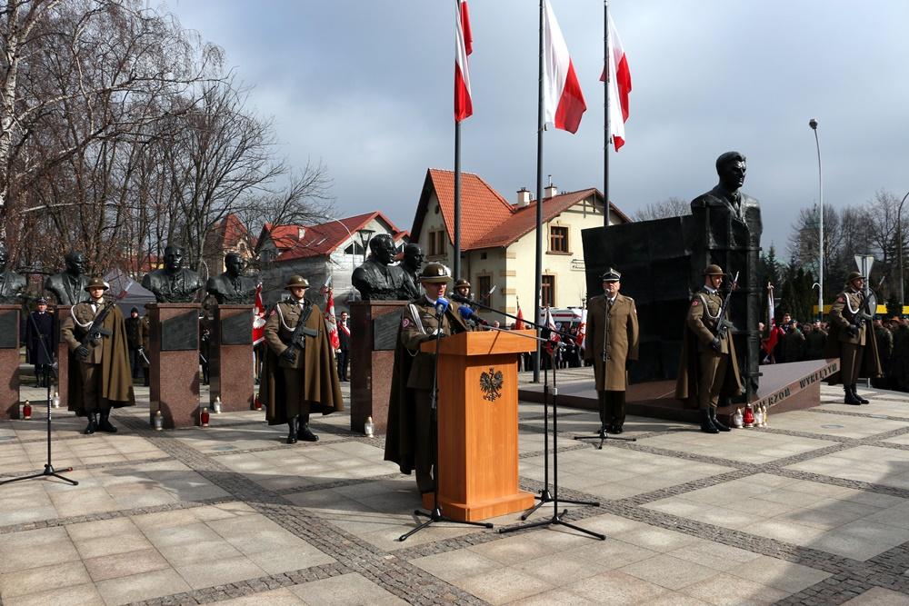 Uroczyste obchody Dnia Żołnierzy Wyklętych w Rzeszowie. 1.03.2019