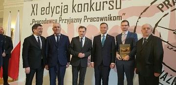 """SUDZUCKER POLSKA S.A z certyfikatem """"Pracodawca Przyjazny Pracownikom"""""""