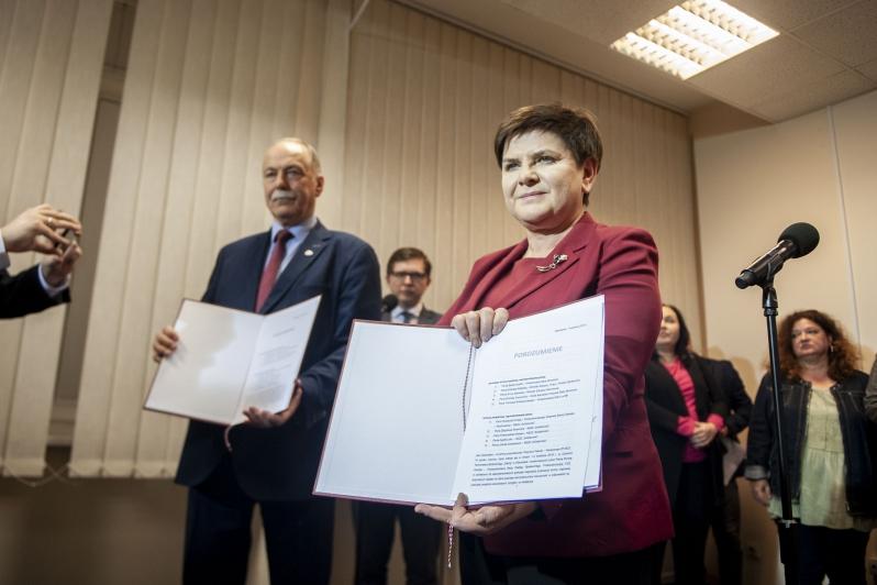Porozumienie rządu z Solidarnością