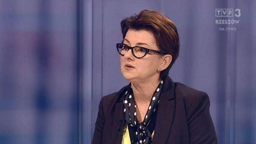 Rozmowa z Małgorzatą Rauch  w TVP Rzeszów