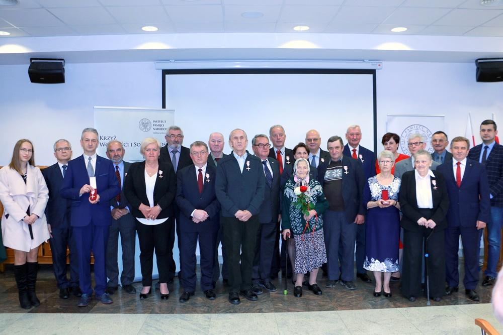 Uroczystość wręczenia Krzyży Wolności i Solidarności  – Rzeszów, 24 maja 2019