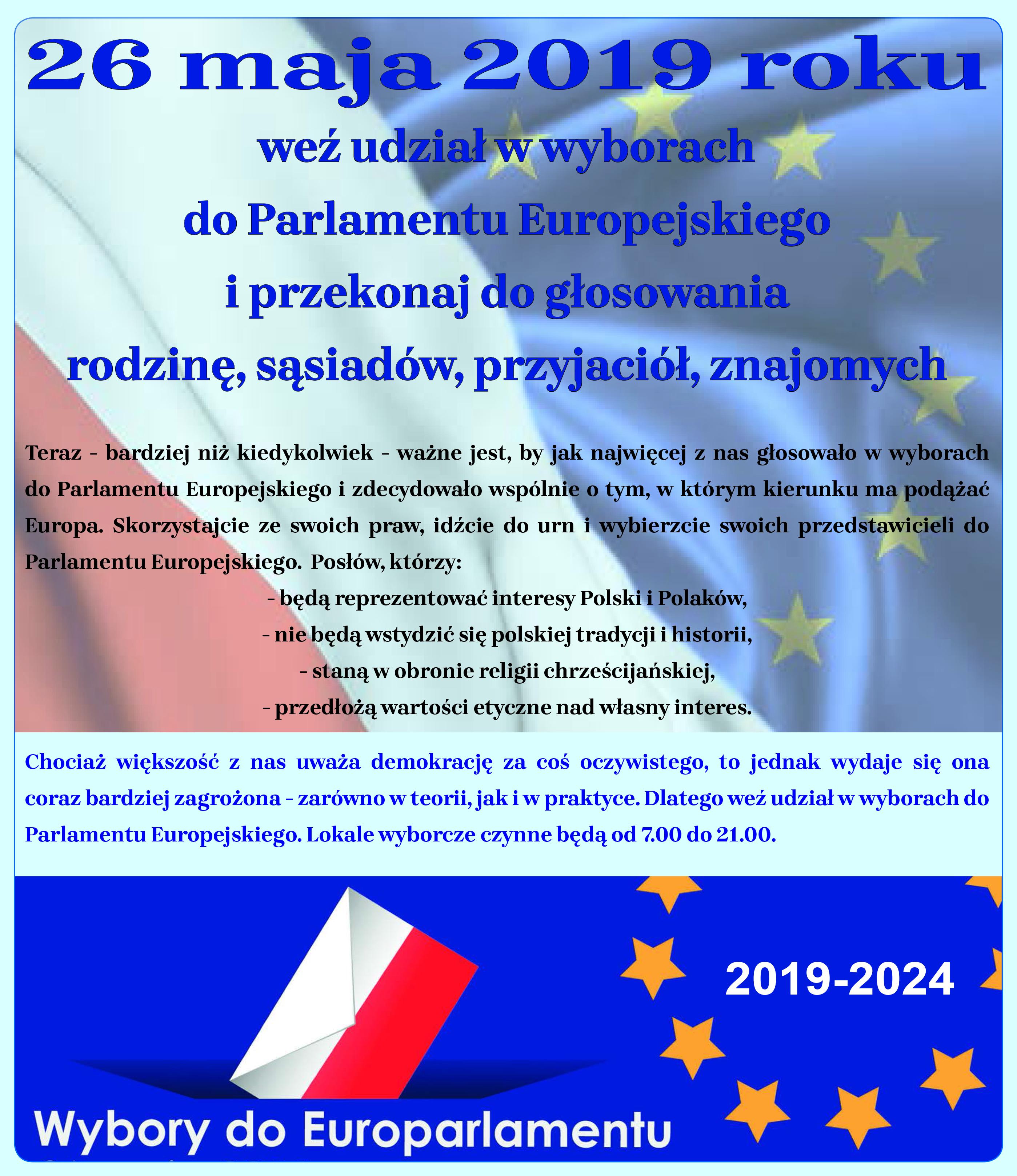 plakat_wybory_do_europarlamentu_2019