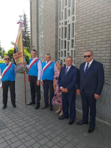 """Relikwie patrona """"Solidarności"""" w Stalowej Woli"""
