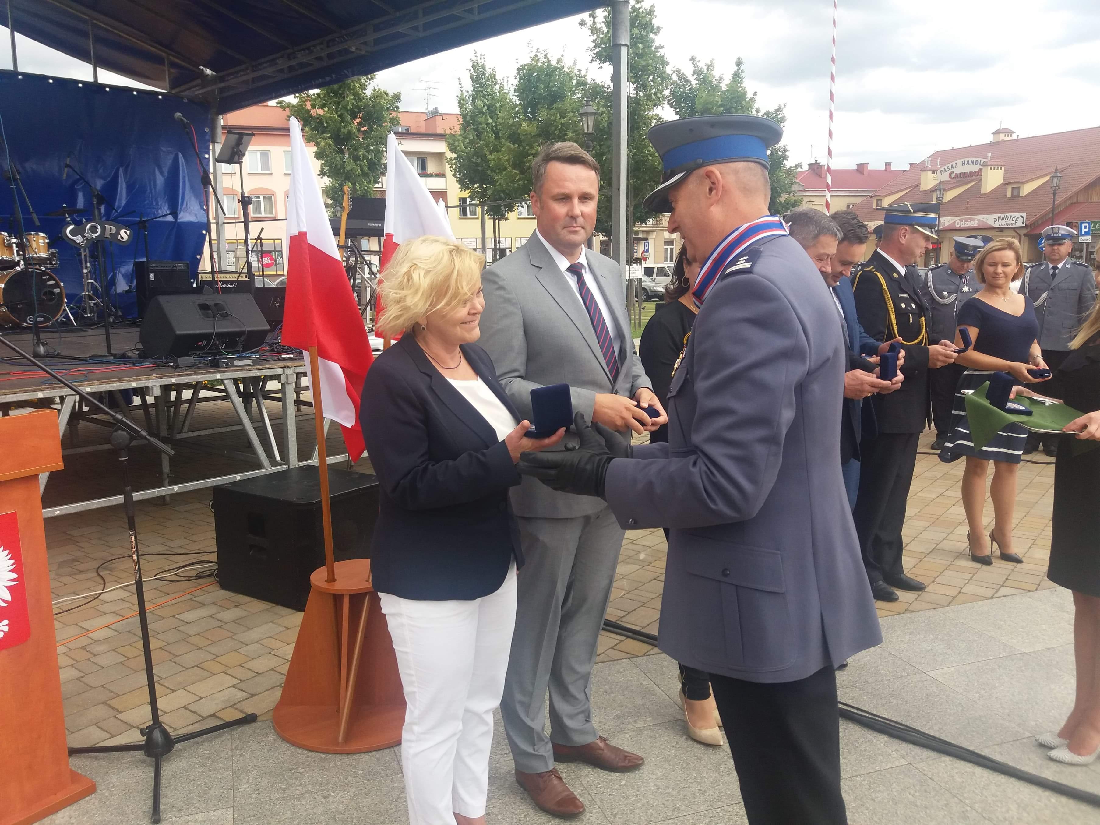 Anna Dziadek wyróżniona przez Policję