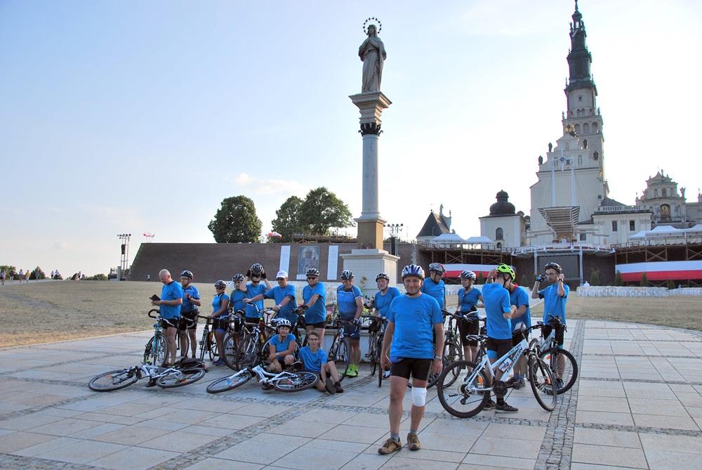 Pielgrzymka rowerowa Solidarności WSK-PZL Rzeszów na Jasną Górę