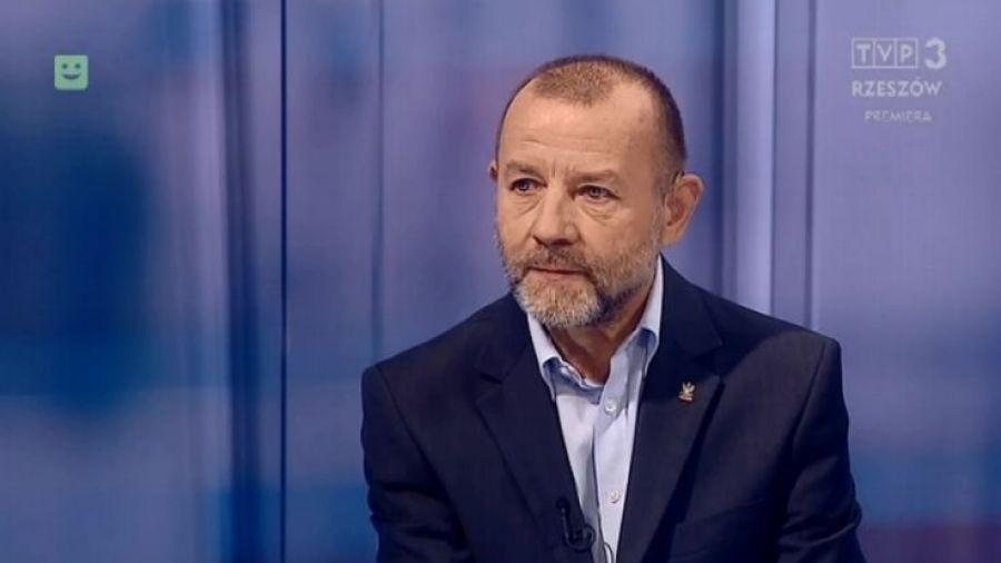 Andrzej Filipczyk w TVP Rzeszów