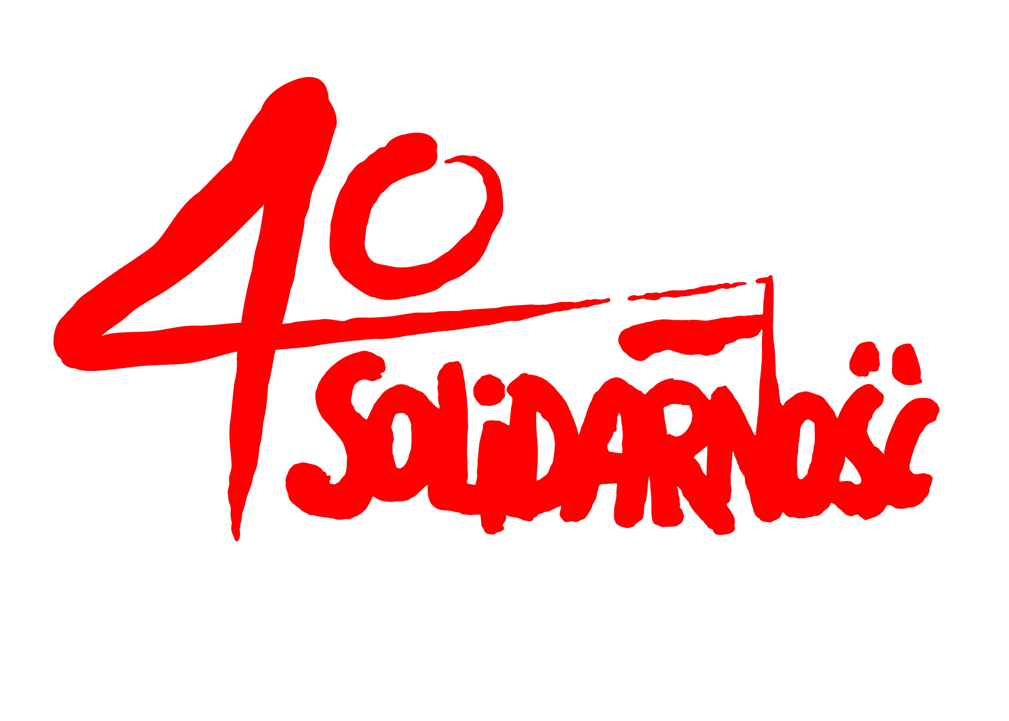 Mamy logo na 40-lecie Solidarności!
