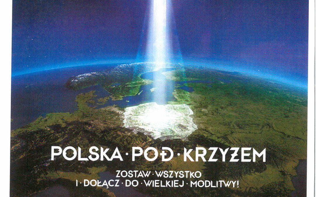 """""""Polska pod Krzyżem"""" to manifestacja za wartościami chrześcijańskimi"""