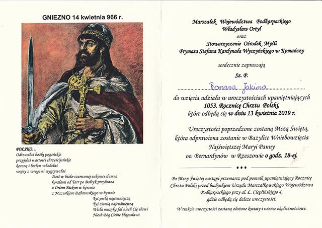 1053 R chrztu Polski