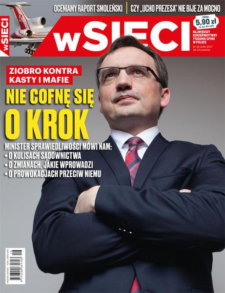 """TOP 7 cytatów z wywiadu Ziobry dla """"wSieci"""""""