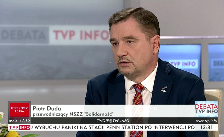 Piotr Duda w TVP INFO: To bardziej ustawa o ograniczeniu pracy w niedzielę, niż handlu