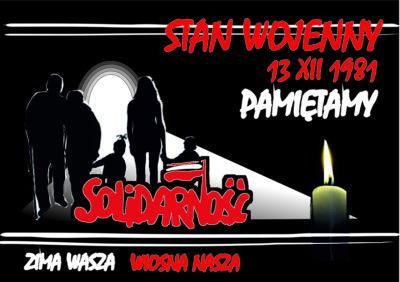 Zapraszamy w rocznicę 13 grudnia – program obchodów w Rzeszowie
