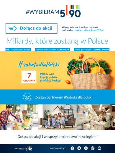 """""""Wybieram 590"""" – kupuj polskie produkty"""
