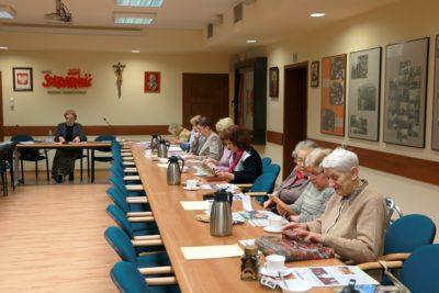 Spotkanie członków Koła Emerytów i Rencistów