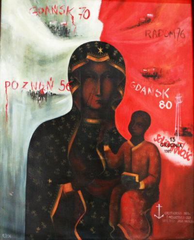 Obraz Matki Bożej Robotników Solidarności