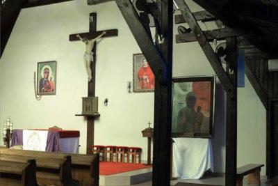 Obraz pozostaje w parafii pw. Błogosławionego Jerzego Popiełuszki w Rzeszowie