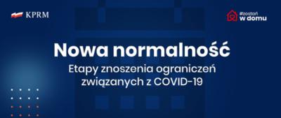 Częściowe znoszenie ograniczeń związanych z koronawirusem
