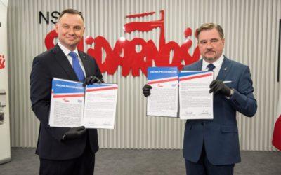 Piotr Duda: Apeluję do marszałka Grodzkiego o szybkie procedowanie dodatku solidarnościowego