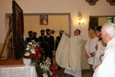 Obraz Matki Bożej Robotników rozpoczyna peregrynację po parafiach Oddziału w Strzyżowie