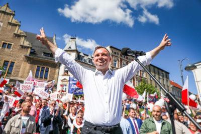 Prezydent RP Pan Andrzej Duda przyjeżdża do Rzeszowa