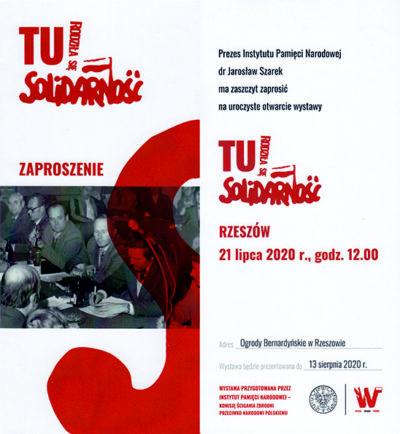 21 lipca w Rzeszowie otwarcie wystawy