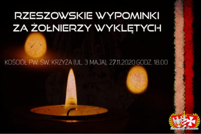 Rzeszowskie Wypominki za Żołnierzy Wyklętych.